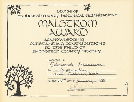 Malstrom Award 1999